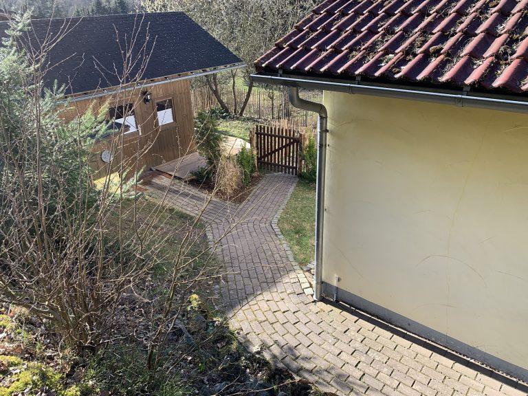 Gartenwegezur Sauna